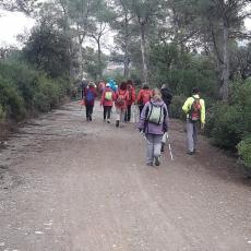 Itinerari del Barcelonès al Vallès per la vall de St. Iscle